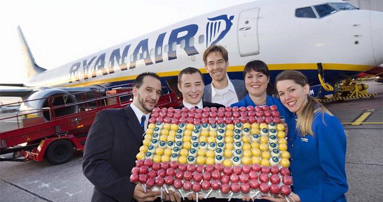 ryanair hamburg airport services to madrid