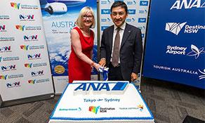 All Nippon Airways returns to Australia