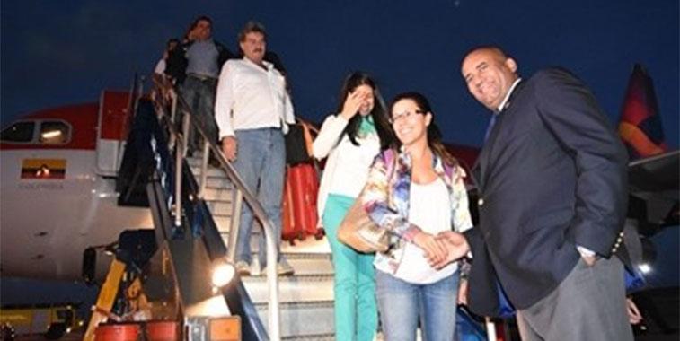Avianca arrives in Barbados
