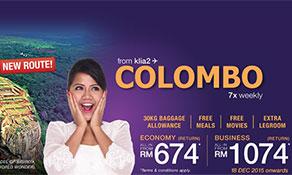 Malindo Air starts Sri Lankan service