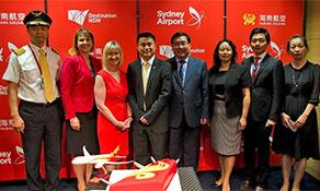 Hainan Airlines returns to Australia