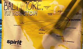 Spirit Airlines sprints onto Baltimore/Washington – Orlando city pair