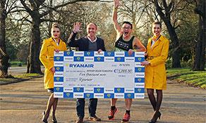 Ryanair exclusively sponsors anna.aero in London Marathon with €5,000 for Anthony Nolan bone marrow transplants