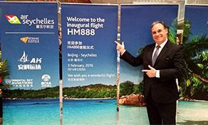 Air Seychelles now serves China
