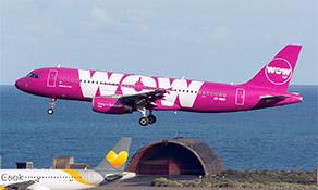 WOW air begins Gran Canaria service