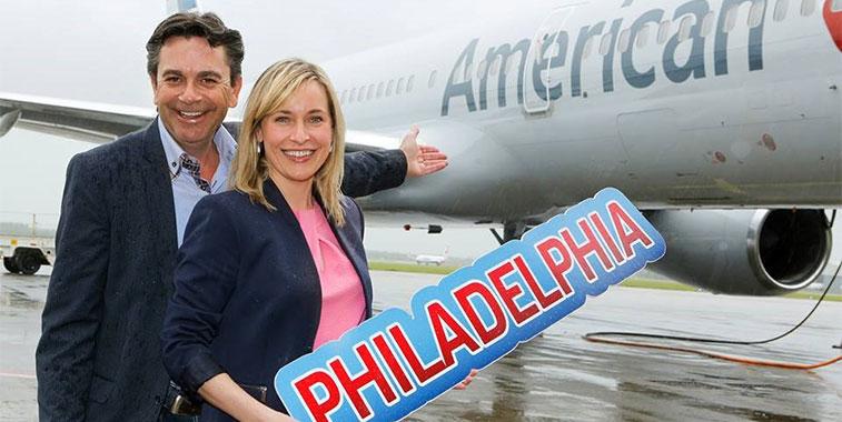 Philadelphia is American Airlines\' sixth largest hub