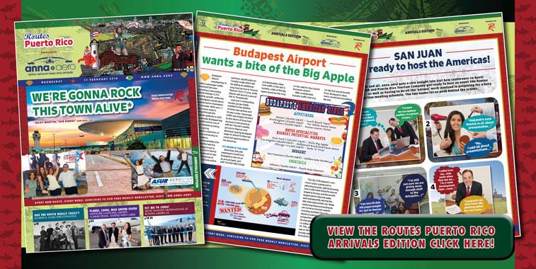 anna.aero on tour: At Routes Americas in Puerto Rico