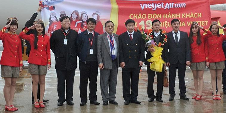 On 31 January VietJetAir reached its latest milestone – 19 million passengers