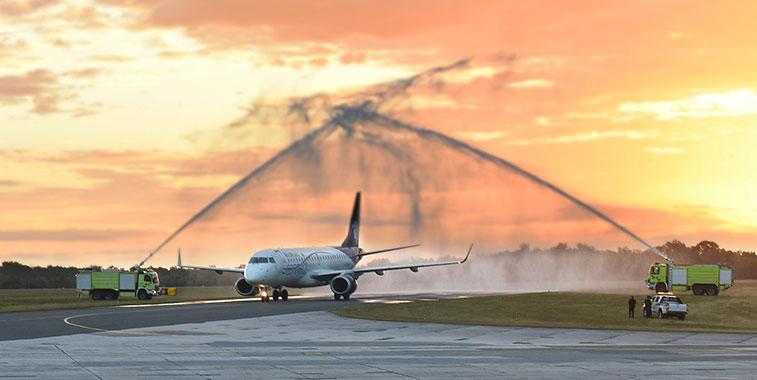 Aeromexico Mexico City to Santo Domingo 16 March