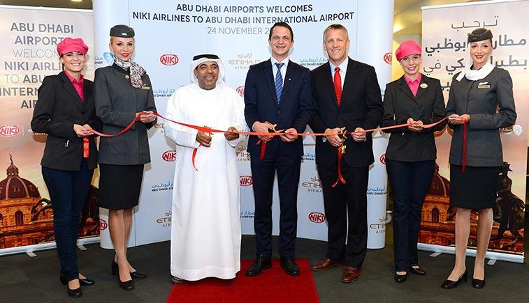 NIKI began flights from Vienna to Abu Dhabi