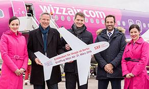 Wizz Air starts Berlin and Birmingham services