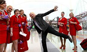 Virgin America descends on Denver