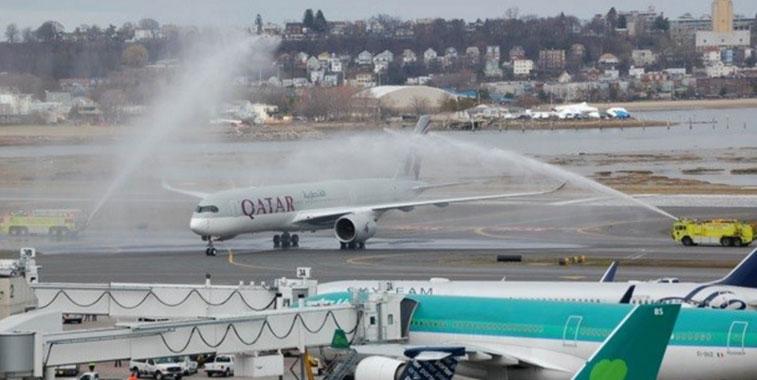Qatar Airways Doha to Boston 16 March