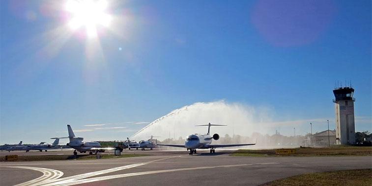 Elite Airways Naples to New York Newark 27 February