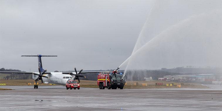 Icelandair Reykjavik/Keflavik to Aberdeen