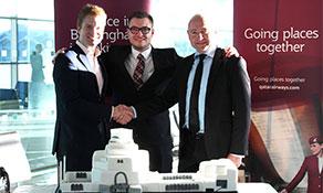 Qatar Airways is welcomed to Birmingham