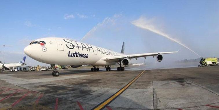 Lufthansa Frankfurt to Panama City
