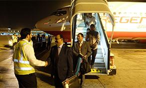 Regent Airways operates first flights to Oman