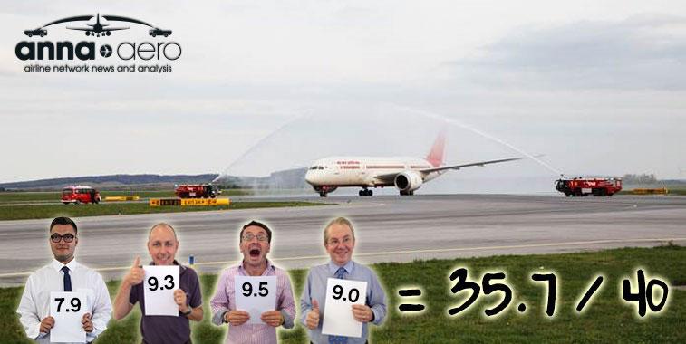 Air India Delhi to Vienna 6 April