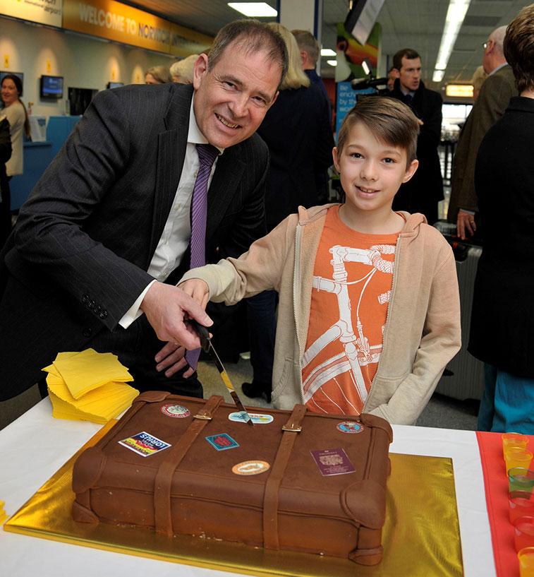 Cake 19 - Flybe Norwich to Alicante and Malaga