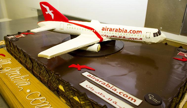 Cake 2 - Air Arabia Marrakech to Pau