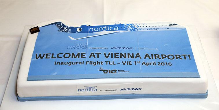 Cake 23 - Nordica Tallinn to Vienna
