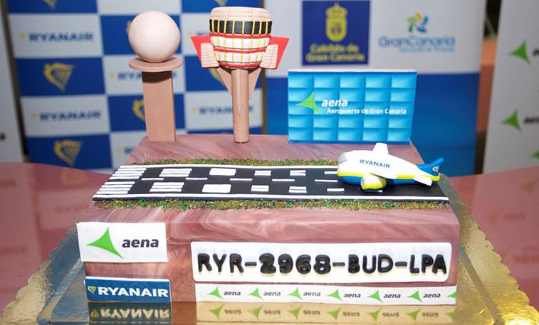 Cake 26 - Ryanair Budapest to Gran Canaria
