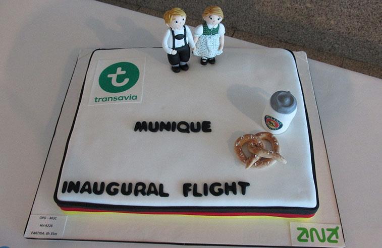 Cake 29 - Transavia Munich to Porto