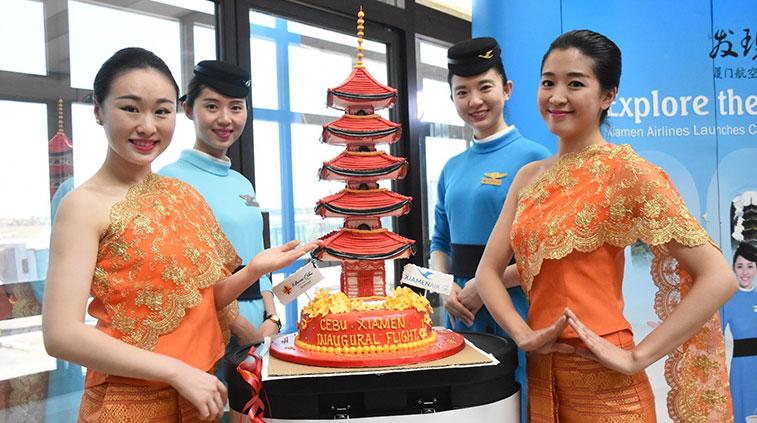 Cake 37 - Xiamen Airlines Xiamen to Cebu