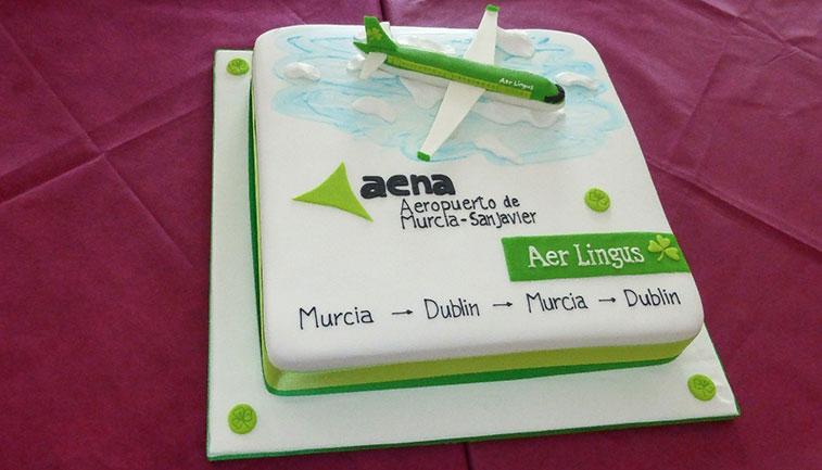 Cake 40 – Aer Lingus Dublin to Murcia