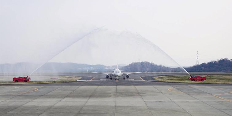 FTWA 20 - Hong Kong Airlines Hong Kong to Okayama
