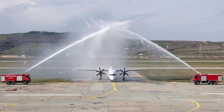 FTWA 22 - LOT Polish Airlines Warsaw Chopin to Cluj-Napoca