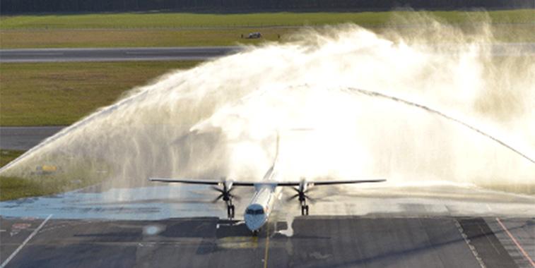 FTWA 23 - LOT Polish Airlines Warsaw Chopin to Palanga