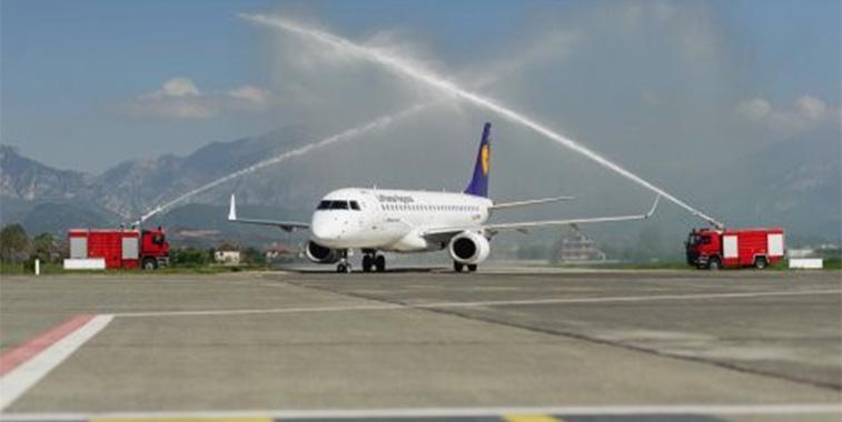 FTWA 24 - Lufthansa Frankfurt to Tirana