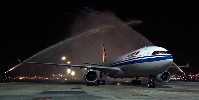 FTWA 4 - Air China Chongqing to Dubai