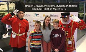 Garuda Indonesia transfers London flights to Heathrow
