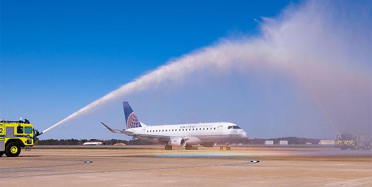 United Airlines Denver to Richmond 5 April