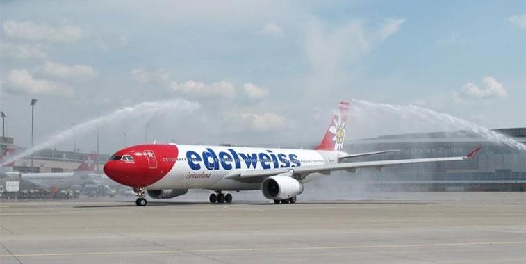 Edelweiss Air Zurich to Rio de Janeiro Galeao 22 April