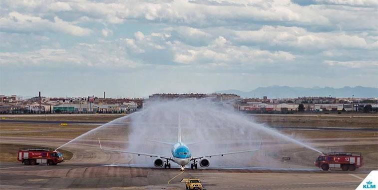 KLM Amsterdam to Valencia 23 April
