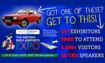 British-Irish Airports EXPO, 147 exhibitors, 20 airport-airline speakers. It's an anna.aero sister event!