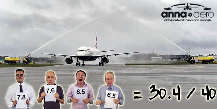 British Airways London Heathrow to Billund 3 May