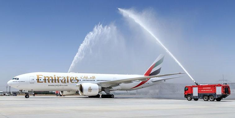 Emirates Dubai to Yinchuan 3 May