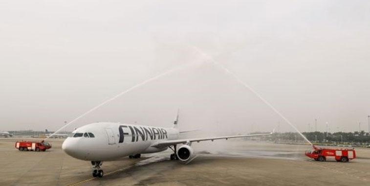 Finnair Helsinki to Guangzhou 6 May