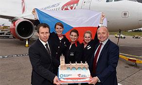 Czech Airlines commences Prague quartet