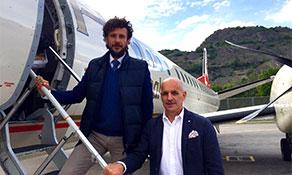 Etihad Regional links Lugano to Sion