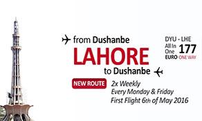 Somon Air lands in Lahore