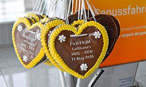 Lufthansa launches Munich trio