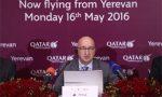 Qatar Airways adds Armenian service