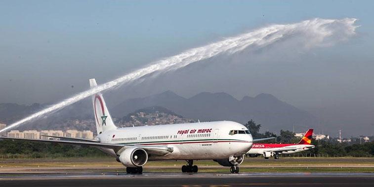 Royal Air Maroc Casablanca to Rio de Janeiro Galeao 3 May