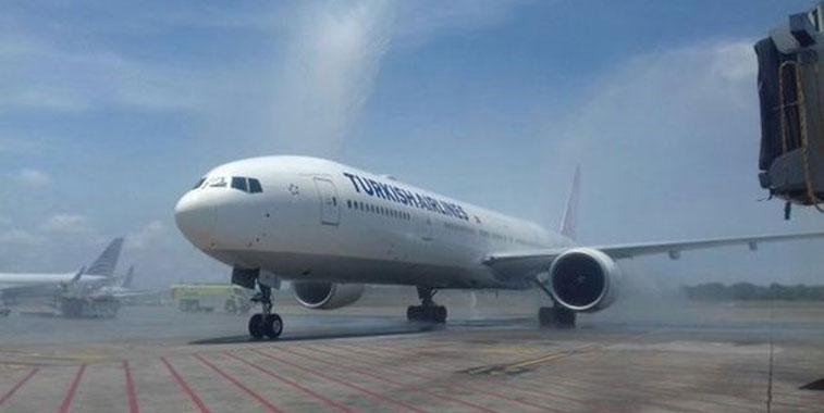 Turkish Airlines Istanbul Atatürk to Panama City 4 May